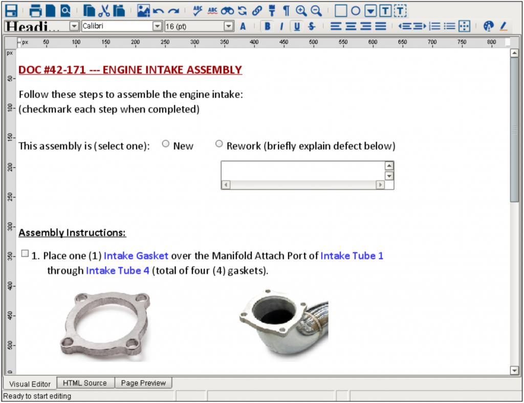 MES Document Management