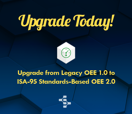 Upgrade from OEE 1 to OEE 2
