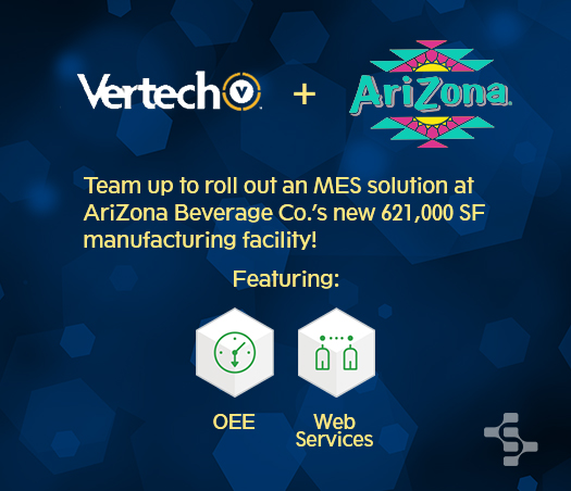 Vertech and Arizona Beverage Co Highlight Image