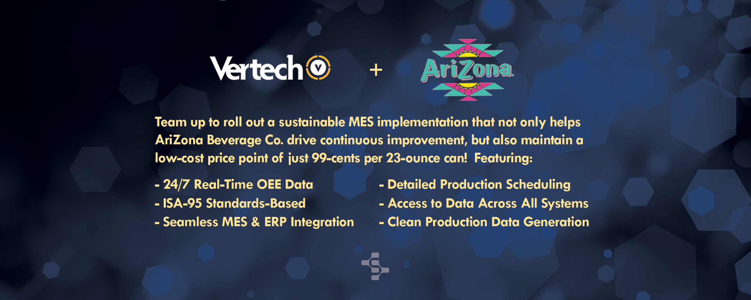 Vertech and Az Bev Co Hero Banner